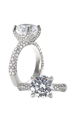 Peter Storm Cinderella Engagement Ring WS459_4DiaW product image