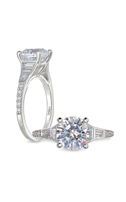 Peter Storm Solitaire Engagement Ring WS484_4DiaW product image