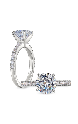 Peter Storm Solitaire Engagement ring WS485 4DiaW product image