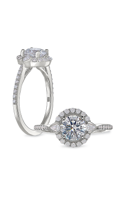 Peter Storm Halo Engagement Ring WS487_4DiaW product image