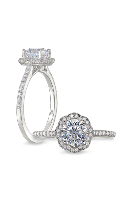 Peter Storm Halo Engagement ring WS486 4DiaW product image