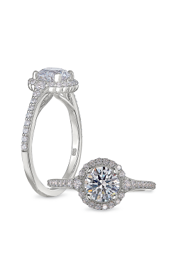 Peter Storm Halo Engagement ring WS489 4DiaW product image