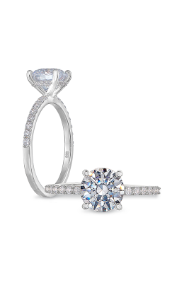 Peter Storm Solitaire Engagement Ring WS491_4DiaW product image