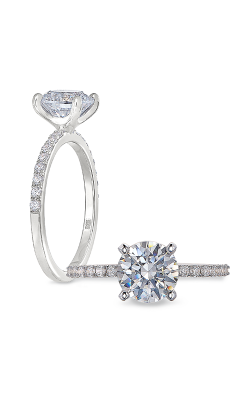 Peter Storm Solitaire Engagement ring WS492 4DiaW product image