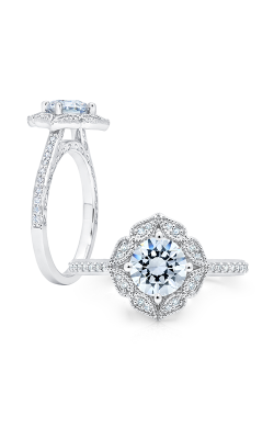 Peter Storm Diverse Halo Engagement Ring WS345_4DiaW product image