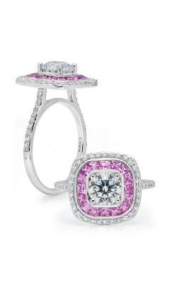 Peter Storm Diverse Halo Engagement ring WS339 4DPkW product image