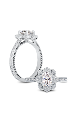 Peter Storm Diverse Halo Engagement ring WS419 4DiaW product image