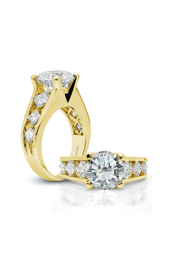 Peter Storm Naked Diamonds Engagement ring WS070 4DiaY PC product image