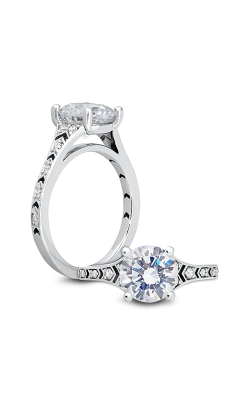 Peter Storm Entrée Engagement ring WS427 4DiaW product image