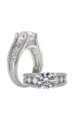 Peter Storm Naked Diamonds Engagement Ring WS102_4DiaW product image