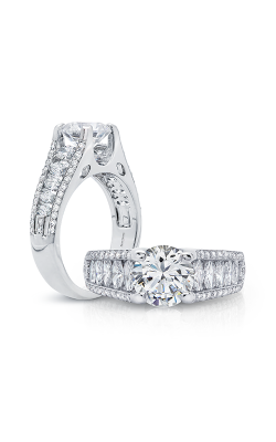Peter Storm Naked Diamonds Engagement Ring WS159_4DIAW product image
