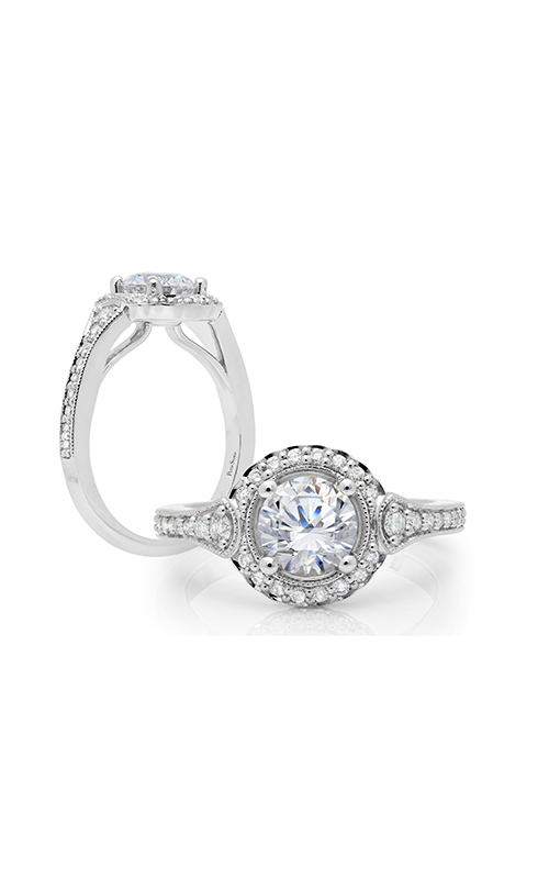 Peter Storm Halo Engagement ring WS317WD2 product image