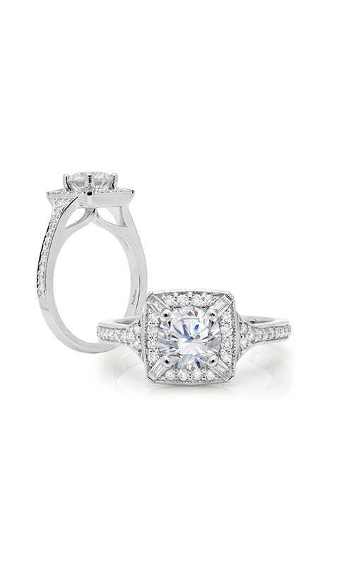 Peter Storm Halo Engagement ring WS318WD2 product image