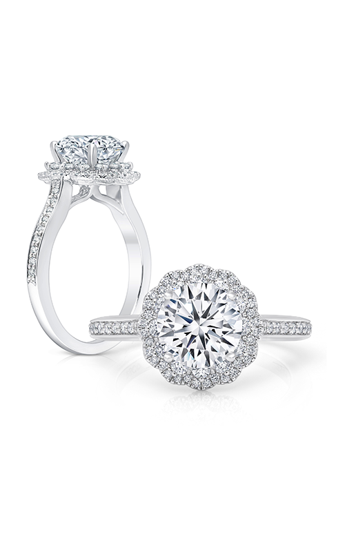 Peter Storm Halo Engagement ring WS402WD2 product image