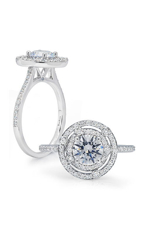 Peter Storm Halo Engagement ring WS330WD product image