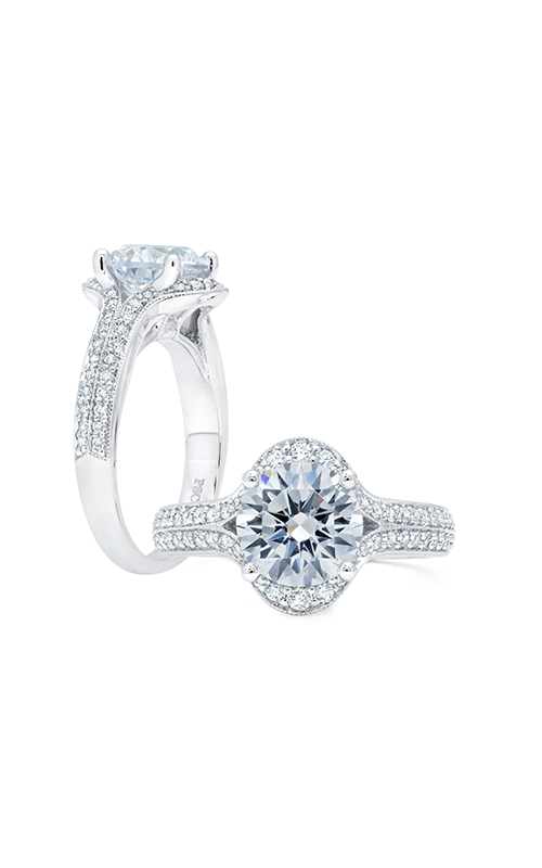 Peter Storm Halo Engagement ring WS375WD product image