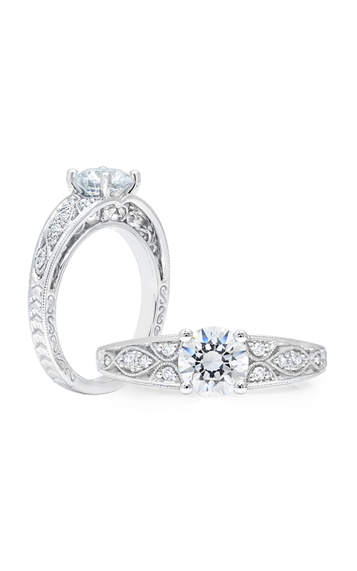 Peter Storm Solitaire Engagement ring WS356WD product image