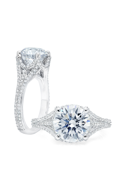 Peter Storm Cinderella Engagement ring WS376_4DiaW product image