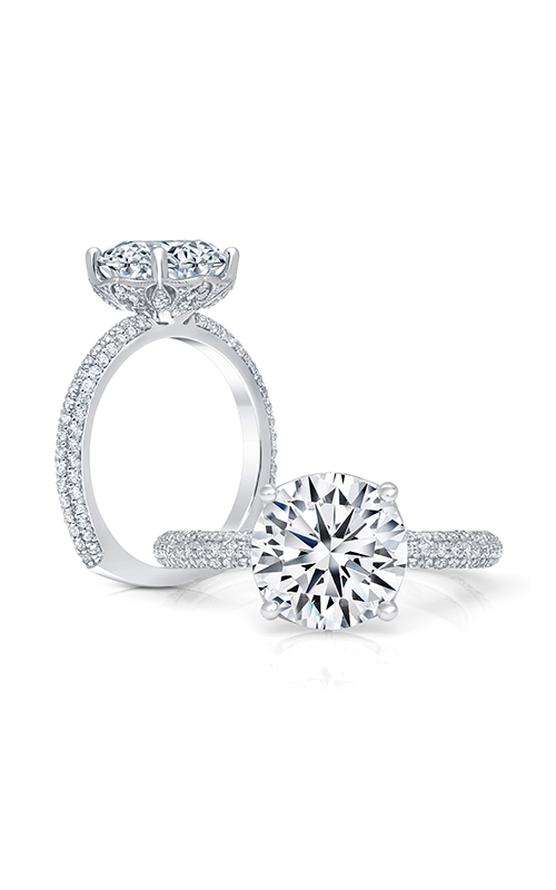 Peter Storm Cinderella Engagement ring WS408_4DiaW product image