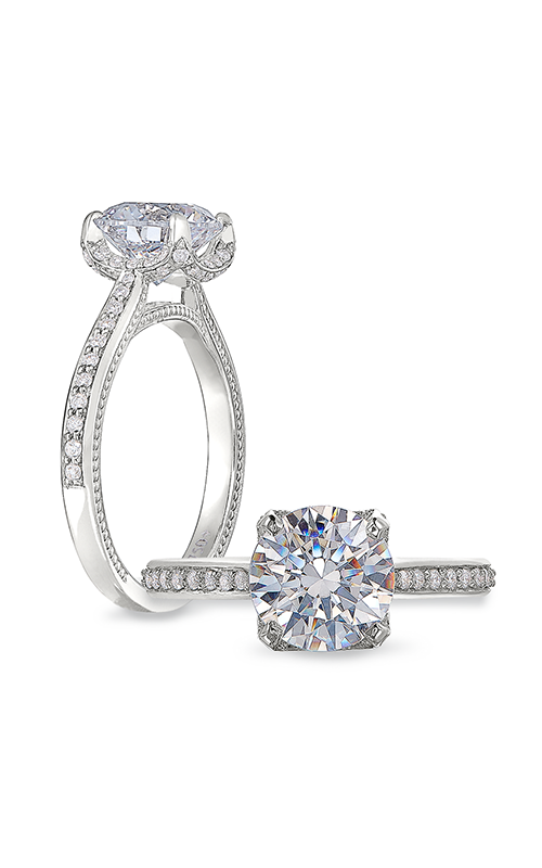 Peter Storm Cinderella Engagement ring WS432_4DiaW product image
