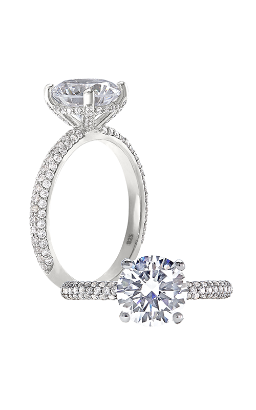 Peter Storm Cinderella Engagement ring WS448_4DiaW product image