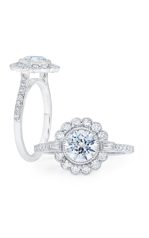 Peter Storm Diverse Halo Engagement ring WS354_4DiaW product image