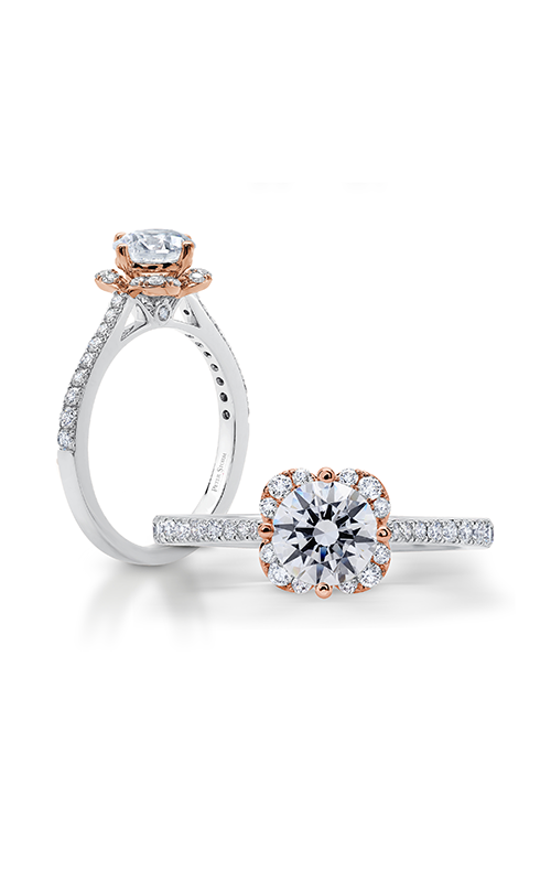 Peter Storm Diverse Halo Engagement ring WS500_4DiaRW product image