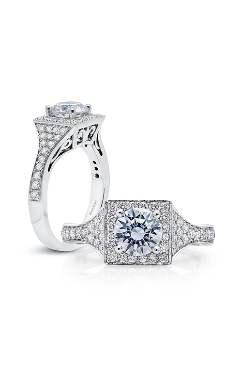 Peter Storm Diverse Halo Engagement ring WS504_4DiaW product image