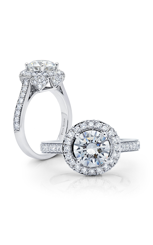 Peter Storm Diverse Halo Engagement ring WS510_4DiaW product image