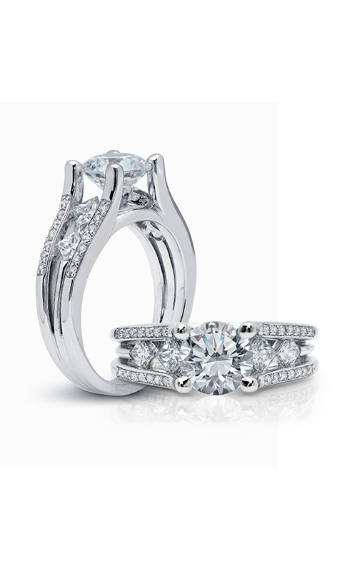 Peter Storm Naked Diamonds Engagement ring WS100_4DiaW product image