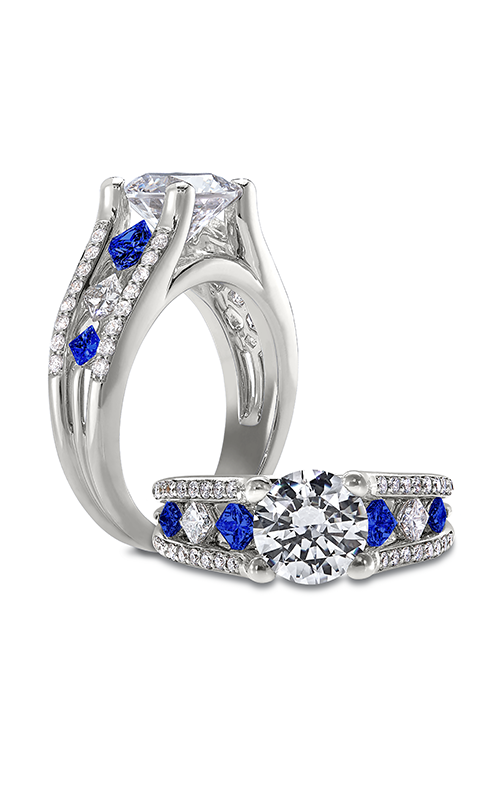 Peter Storm Naked Diamonds Engagement ring WS102_4DBlW X4BS product image
