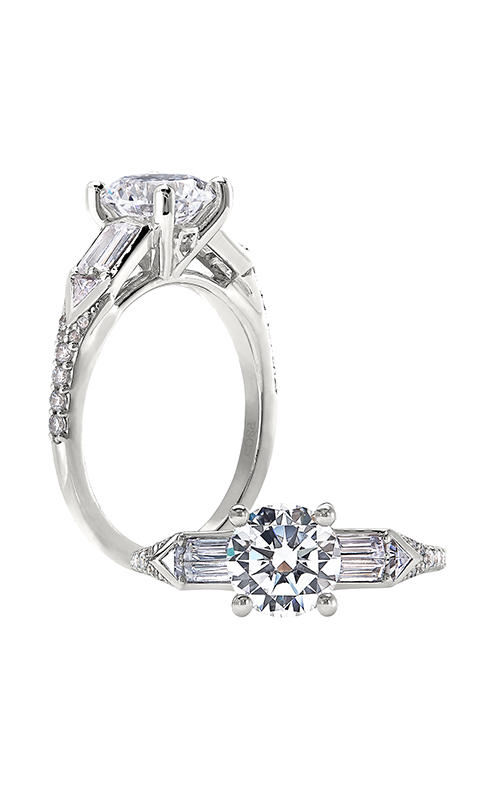 Peter Storm Geometry Engagement ring WS452_4DiaW product image