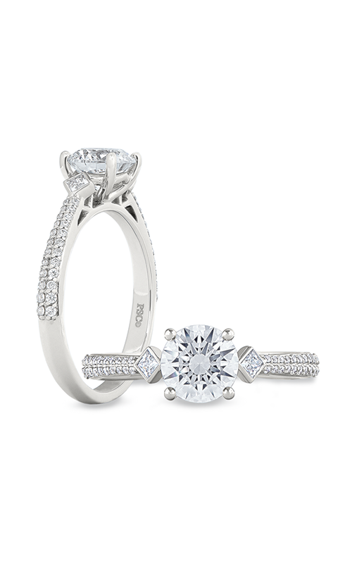 Peter Storm Geometry Engagement ring WS463_4DiaW product image