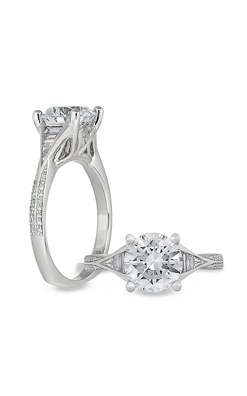 Peter Storm Geometry Engagement ring WS483_4DiaW product image