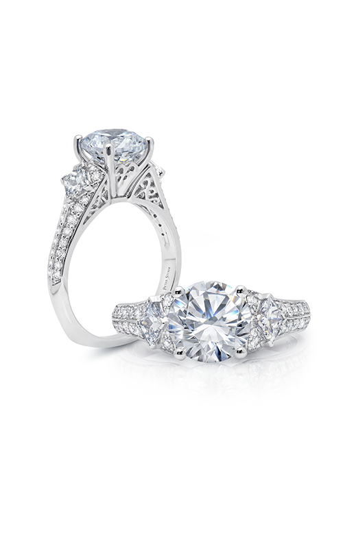 Peter Storm Geometry Engagement ring WS152_4DiaW product image