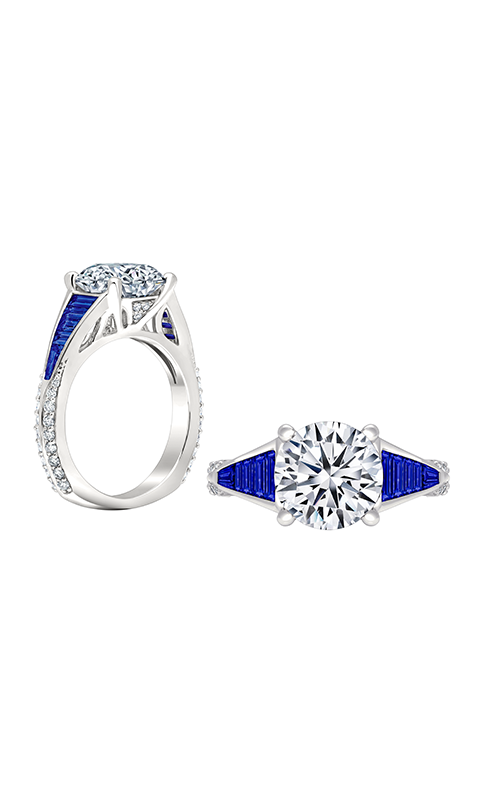 Peter Storm Geometry Engagement ring WS413_4DBlW product image