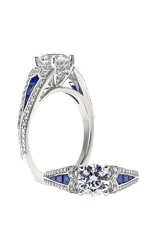 Peter Storm Geometry Engagement ring WS416_4DBlW product image