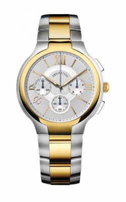 Philip Stein Round Chronograph Watch 45TG-CRSILG product image