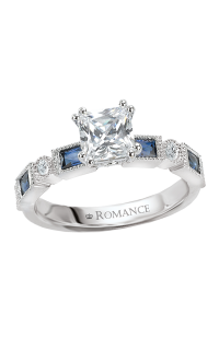 Romance Wedding Bands 117231-S