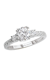 Romance Wedding Bands 117265-S