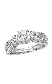 Romance Engagement Rings 117138-100