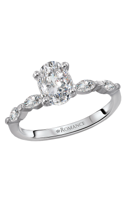 Romance 14K Engagement Ring 160050-OV100A product image