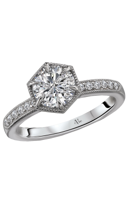 Romance Engagement Ring 115443-RD100 product image