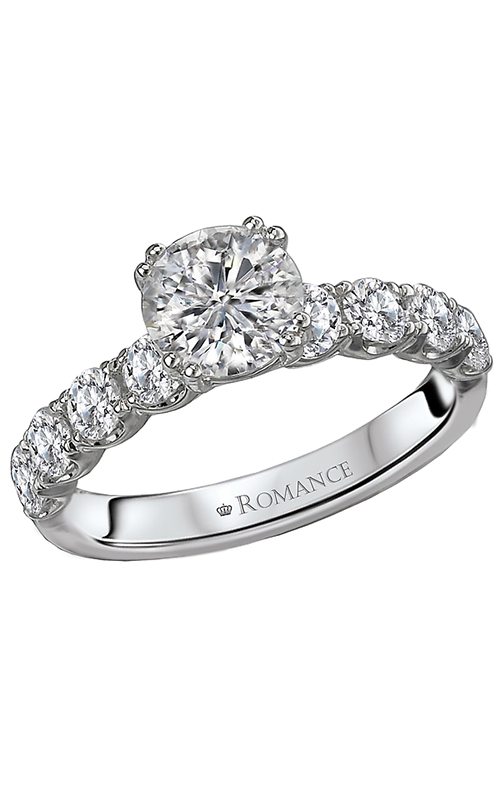 Romance 14K Engagement ring 117271-SK product image