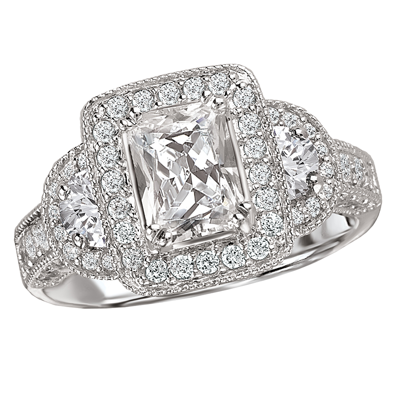 Romance Engagement Rings 117097-100 product image