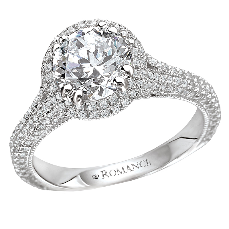 Romance Engagement Rings 117098-100 product image