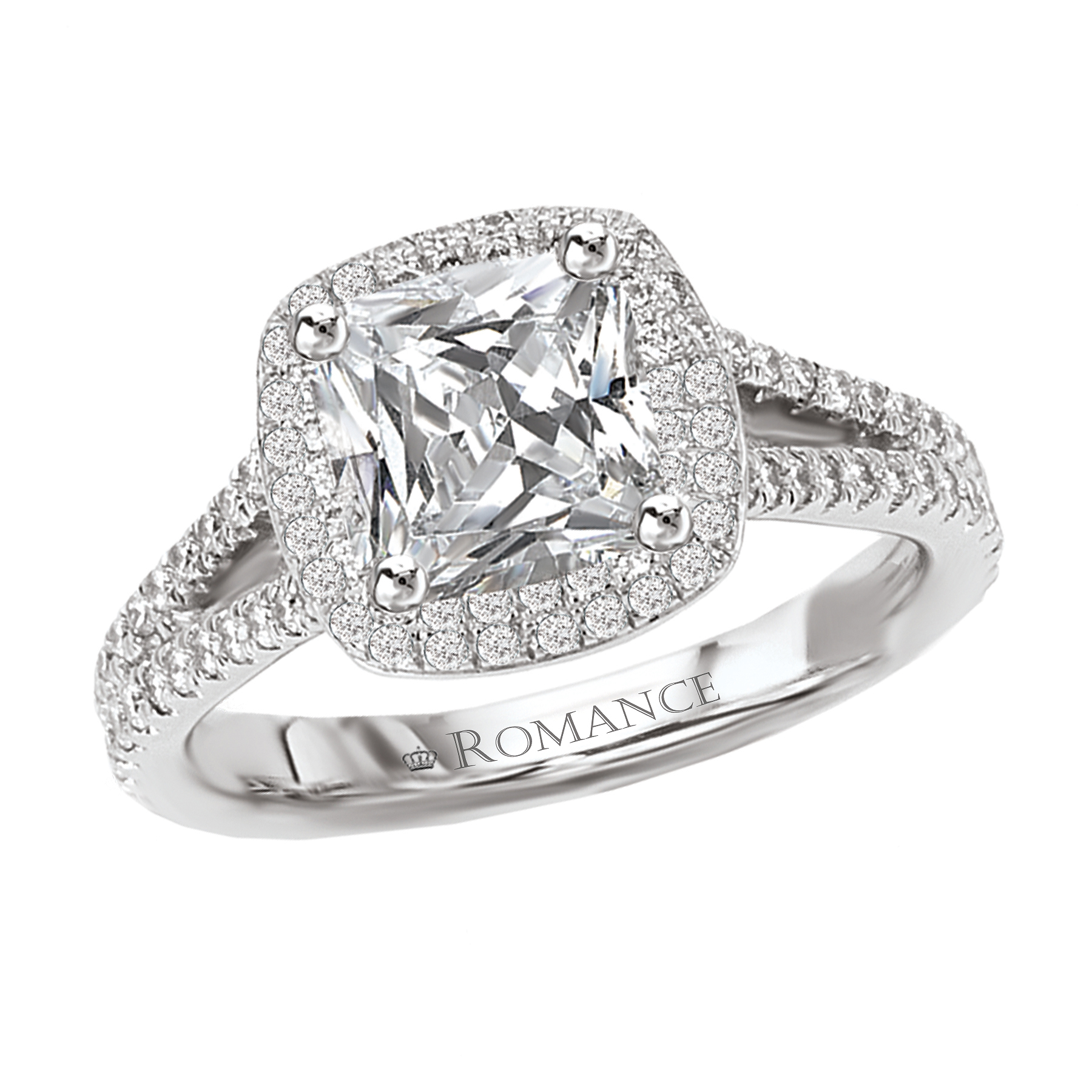 Romance Engagement Rings 117101-100 product image