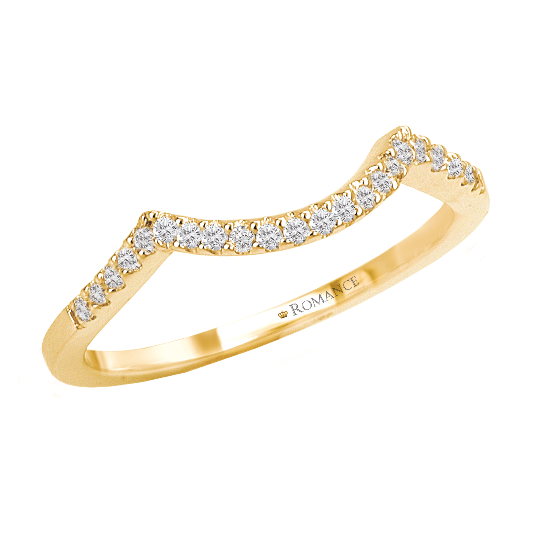 Romantic Bands: Romance Wedding Bands 117133-100WY