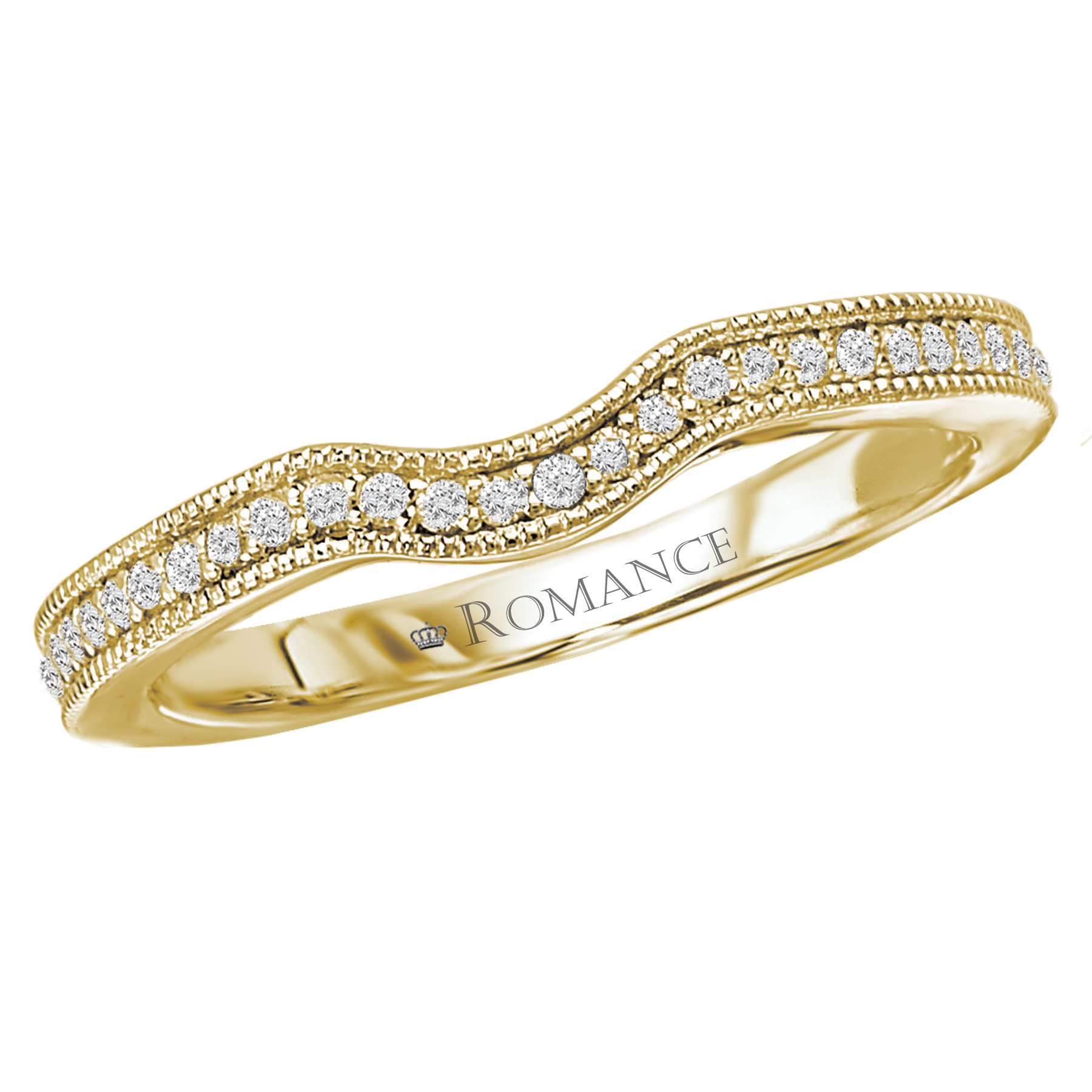 Romance Wedding Bands 117221-WY product image