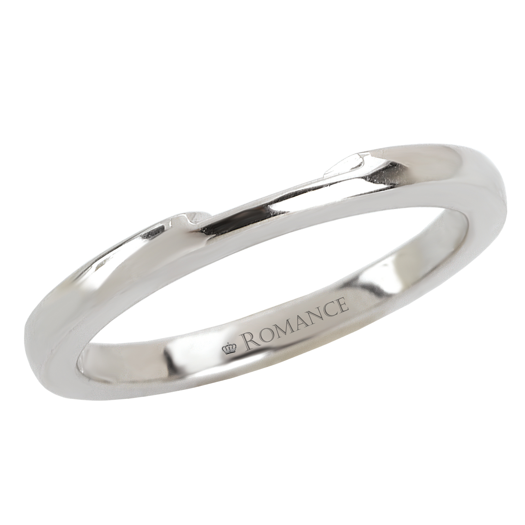 Romance Wedding Bands 117237-W product image